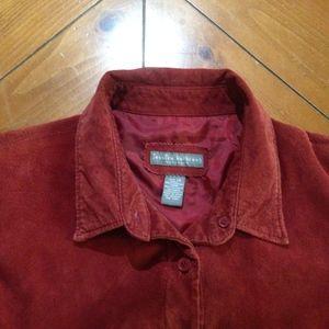 Jessica Holbrook Jackets & Coats - Jessica Holbrook suede jacket
